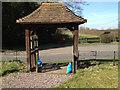 SP1265 : Lych gate, St Mary's Church, Oldberrow by Robin Stott