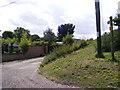 TM4275 : Wash Lane footpath to Bartholomew's Lane by Adrian Cable