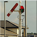 C8540 : Somersault signal, Portrush station by Albert Bridge