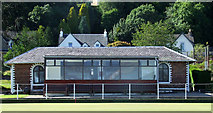 NS1469 : Innellan Bowling and Tennis Club by Thomas Nugent