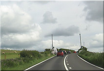 SD8656 : A65 east at Lay-by by Waspber Hill by John Firth