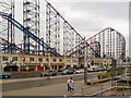 SD3033 : The Big One, Blackpool Pleasure Beach by David Dixon