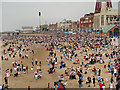 SD3035 : Crowds on Blackpool Beach by David Dixon