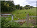 ST6754 : Field gate on The Fosse Way byway by James Ayres
