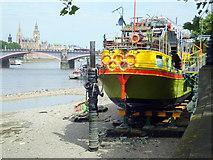TQ3078 : Tamesis Dock, Albert Embankment by PAUL FARMER