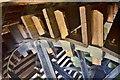 TL2871 : Houghton Mill - Breastshot Wheel by Ashley Dace