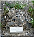 TR1557 : St Augustine's Abbey - Site of St Augustine's grave by Rob Farrow