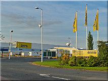 TQ7190 : Basildon Tractor Plant by John Allan