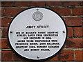 Photo of Abbey Street, Faversham white plaque
