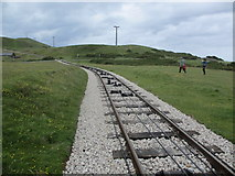 SH7783 : The Great Orme Tramway by Peter Holmes