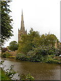 SD4861 : Lancaster Canal and Cathedral by David Dixon