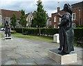 TR1557 : Aethelbert greets Bertha by Rob Farrow