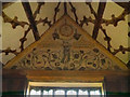 SJ8358 : Fortune, The Long Gallery at Little Moreton Hall by David Dixon