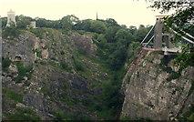 ST5673 : Clifton Suspension Bridge Area - B8 by David Hallam-Jones