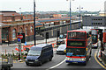 SP0786 : Traffic by Moor Street Station by roger geach