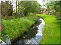TQ2084 : Canal feeder, Twybridge Way, London NW10 by Jaggery