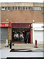 SJ8990 : Steve's Old School Barber's Shop, St Petersgate by Robin Stott