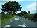 SJ7175 : Plumley Moor Road at Plumley village boundary by Colin Pyle