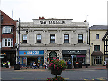 NZ3572 : Whitley Bay - New Coliseum by Dave Bevis