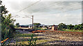 NY4740 : Site of Calthwaite station, 1986 by Ben Brooksbank
