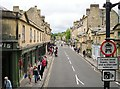 ST7564 : The road across Pulteney Bridge by Rose and Trev Clough