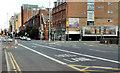 J3373 : Bus lane, Gt Victoria Street, Belfast by Albert Bridge