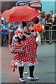 SJ8497 : Minnie Mouse, Whitworth Street by David Dixon