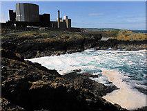 SH3494 : Wylfa Nuclear Power Station by Arthur C Harris