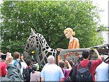 SP3378 : Godiva Carnival, Warwick Road by E Gammie