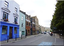 TQ3680 : Limehouse, Narrow Street by Mike Faherty