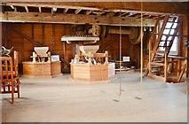 TM0819 : Thorrington Tide Mill - Stone Floor by Ashley Dace
