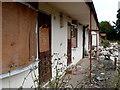 SP3870 : Derelict Accommodation Woodhouse Hotel by Nigel Mykura