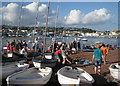 SX9372 : Between beach games, Shaldon Regatta 2012 by Robin Stott