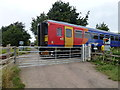 TF2116 : East Midlands railcar in Deeping St Nicholas by Richard Humphrey