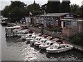 SU4996 : Abingdon Boat Centre by Colin Smith