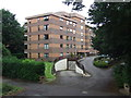 SZ0691 : Block of flats at Branksome Park, near Poole by Malc McDonald