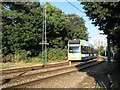 TQ3165 : Tram entering single track section by Stephen Craven