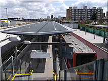 TQ4380 : King George V DLR station, North Woolwich by David Anstiss