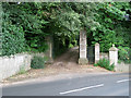 SX9372 : Entrance to Fonthill, Torquay Road by Robin Stott