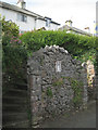 SX9372 : Steps up to the Homeyards houses by Robin Stott