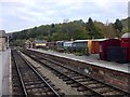 SE8190 : Rolling stock at Levisham station by Andrew Abbott