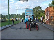 SO9491 : Steam and Electric by Gordon Griffiths