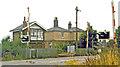 TL5583 : Chettisham station (remains), 1983 by Ben Brooksbank