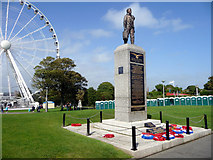 SX4753 : Royal Air Force Memorial, The Hoe, Plymouth, Devon by Christine Matthews