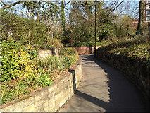 SP3165 : Ramped end of York Promenade by Robin Stott