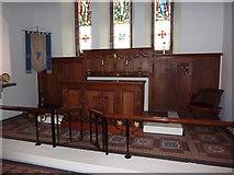 SD1578 : St Luke's Church, Haverigg, Altar by Alexander P Kapp