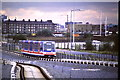 TQ3780 : DLR at Poplar, 1987 by Malc McDonald