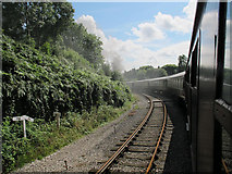 SD8010 : Curving towards Heywood by Stephen Craven