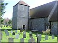 TV5597 : Church of St Simon & St Jude, East Dean by Paul Gillett