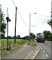 TF6312 : Traffic camera on the A10 through Setchey by Evelyn Simak